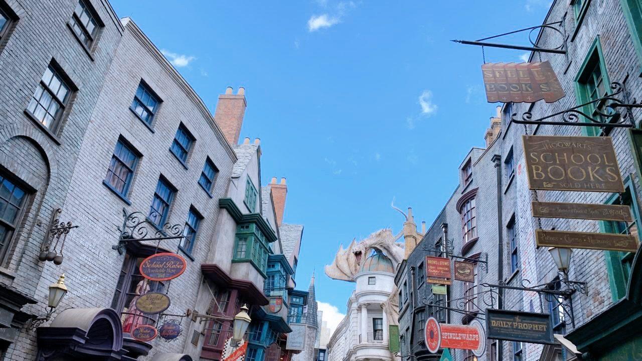 universal studio Florida Harry potter